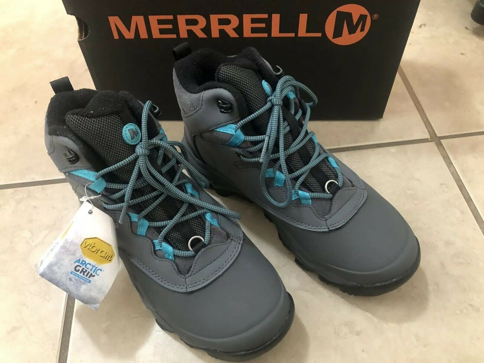 "Merrell Thermo Advnt Ice+ 6"" WP Wmns 7"