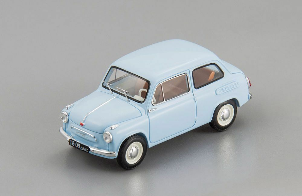 ZAZ 965 blu USSR 1960 DiP Models 1:43 196501