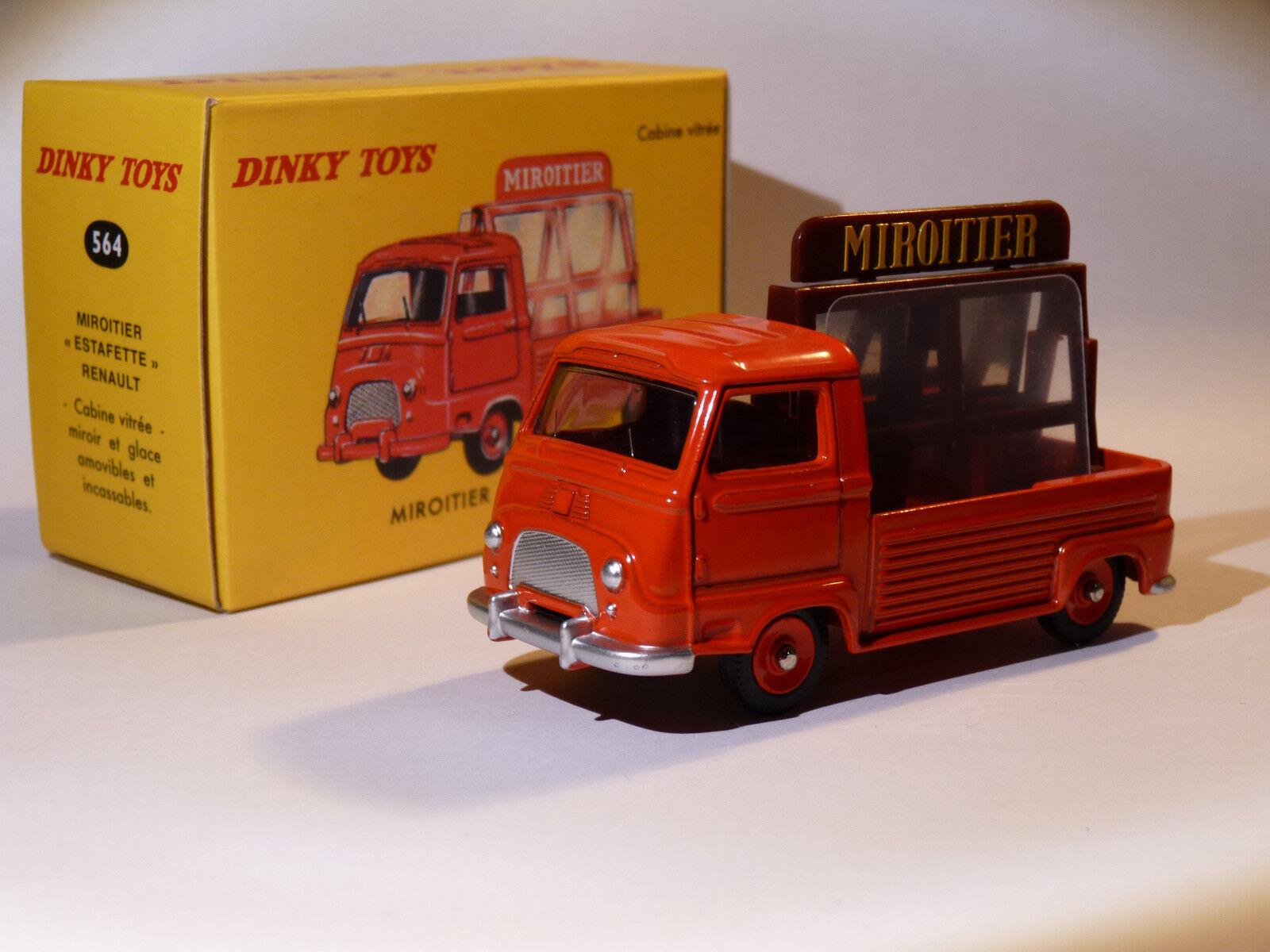 Renault Estafette Miroitier - ref 564 au 1 43 dinky toys atlas