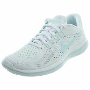 6b3d61ba8273b Nike Flex 2017 RN Women  Running Shoes White Glacier Blue 898476 101 ...