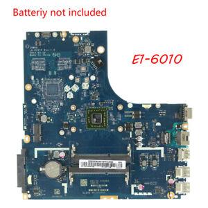 Placa Madre Para Laptop Para Lenovo B50 45 Amd E1 6010 Cpu Zawba Bb La B291p Ebay