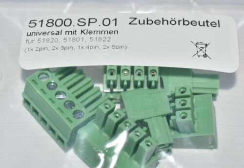 ESU 51800.sp.01 de Rechange-Connecteurs//Pinces Set 6tlg Pour 51820 51801 51822 nouveau