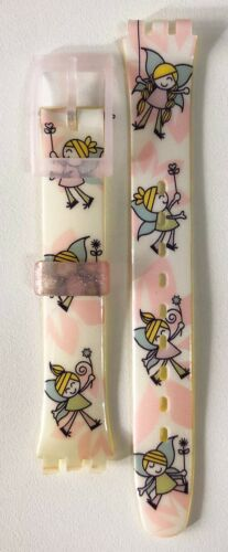 IRONY LADY MODELS 90/'S FITS 12MM SWATCH ORIGINAL BAND STRAPs #2030 NEW