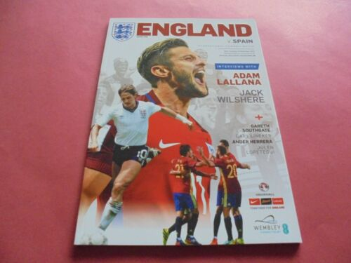 2016 ENGLAND HOME PROGRAMMES CHOOSE FROM