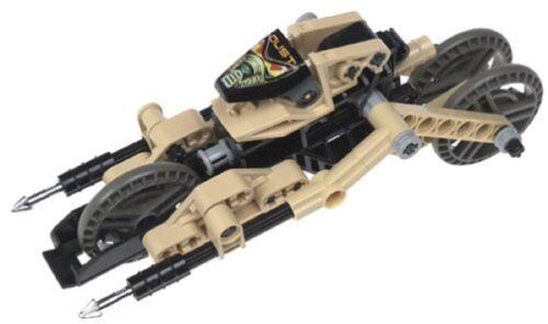 Lego 8513 Technic Roboriders Dust complet no Rubber de 2000 C269