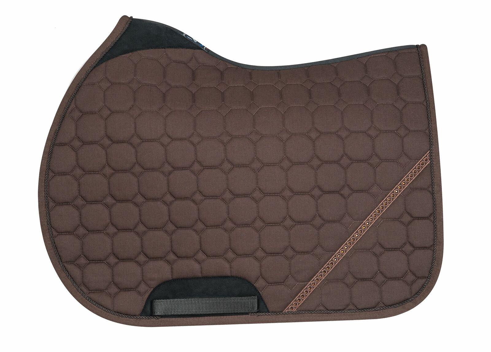 Equiline BOB HORSE OCTAGONE SADDLE CLOTH  marrón SS 2019  conveniente