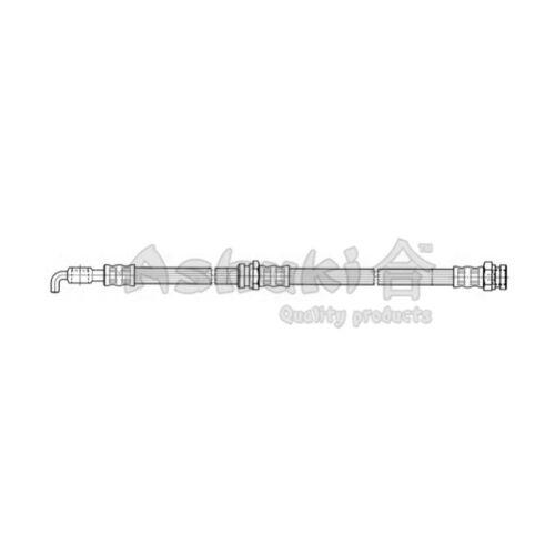 ASHUKI Bremsscheibe  Hinten Hinterachse für Mitsubishi Outlander III
