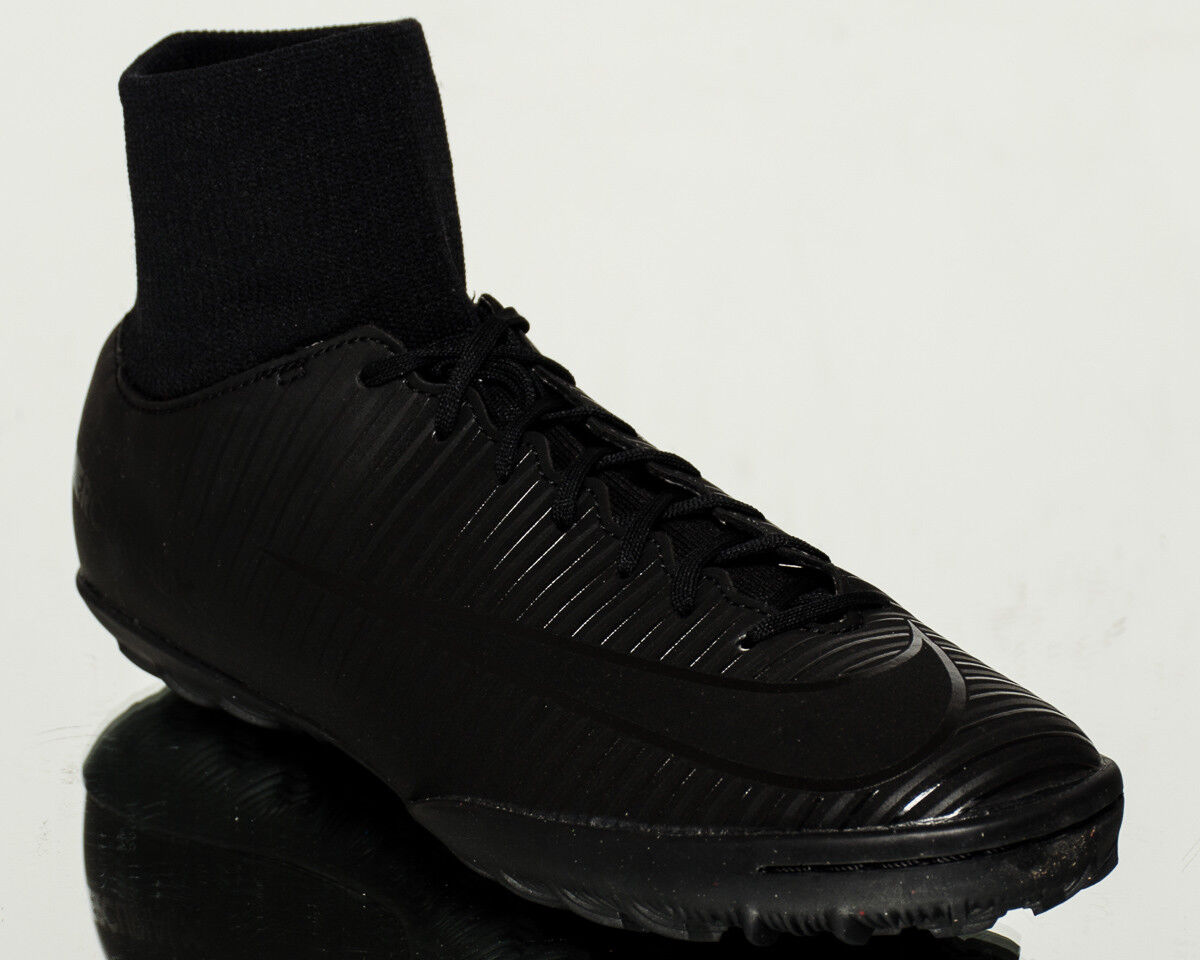 New shoes for men and women, limited time discount Nike MercurialX Victory VI DF TF men football soccer cleats NEW black 903614-001
