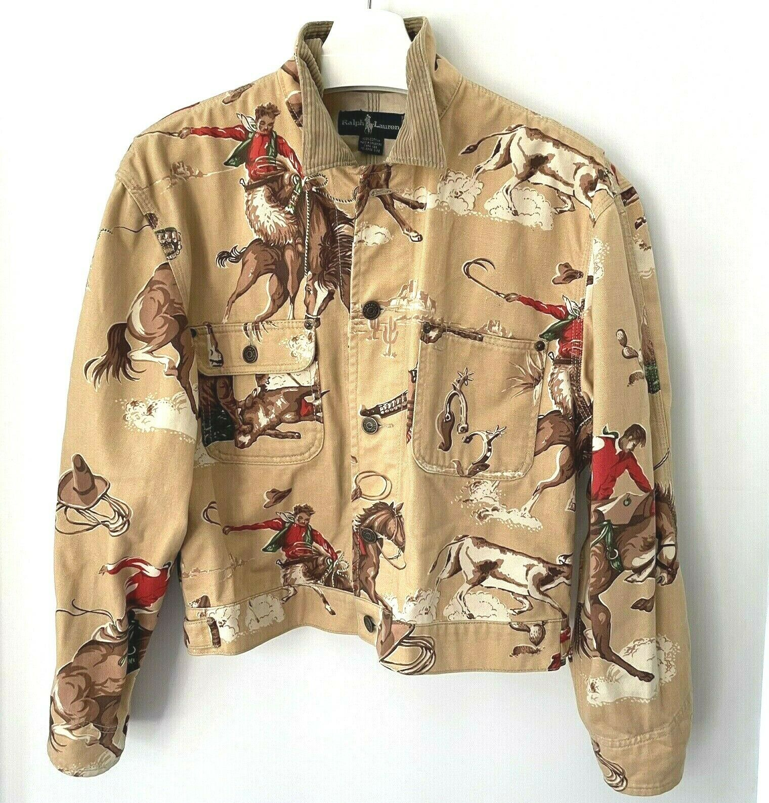 VTG Ralph Lauren Rodeo Country Western Cowboy Wom… - image 1