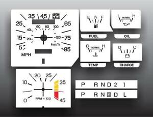 1980-1986-Ford-Truck-With-Trip-Dash-Instrument-Cluster-White-Face-Gauges