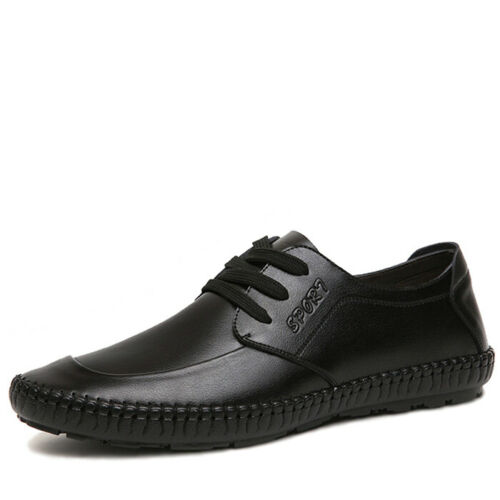Mens Loafers Oxfords Business Formal Dress Shoes Leather Lace up Confort New