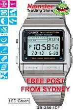 AUSSIE SELER CASIO WATCH 30-TELEMEMO 5-ALARMS DB-380-1DF DB380 DB-380-1 DB-380