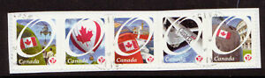 CANADA-2011-OCANADA-PERMANENT-STAMPS-STRIP-OF-5-FINE-USED