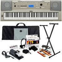 Yamaha Ypg-235 Portable Grand Keyboard Stage Essentials Bundle on Sale
