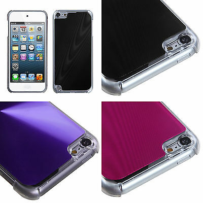 for iPod Touch 5th / 6th Gen - Acrylic Metal Aluminum Hard Slim Skin Case Cover