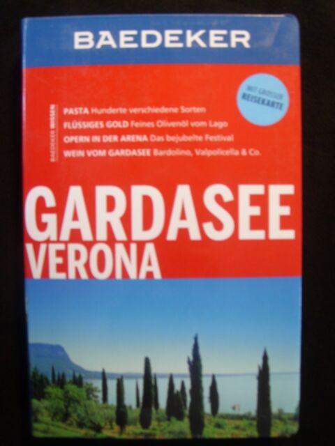Gardasee Verona Baedeker 2013 ungelesen mit Karte Italien Lago Garda Bardolino