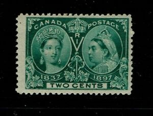 Canada-SC-52-Mint-Hinged-Hinge-Remnant-S3893