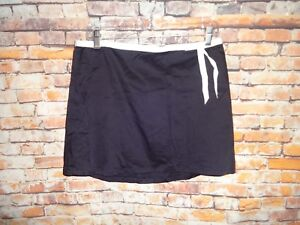 Women-039-s-Skirt-Xhilaration-Size-11-Black-White-Ribbon-Waist-Bow-Cotton-MIni