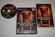 Silent Hill 4 The Room Sony Playstation 2 PS2 Video Game Complete