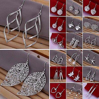 Hot Sale Women's Jewelry 925 Sterling silver SP vintage dangle earrings