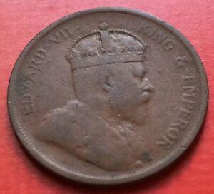 Straits-King-Edward-VII-One-Cent-1907-1
