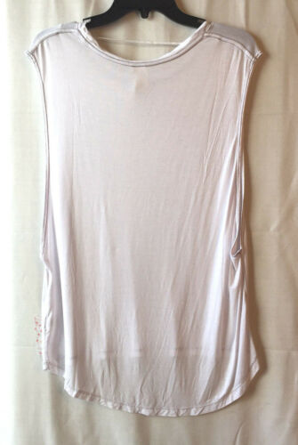 Free People OB577537 The It Muscle Sleeveless Tank Top/' in White