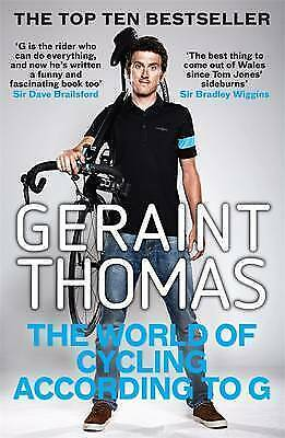 1 of 1 - The World of Cycling According to G by Geraint Thomas (Paperback, 2016)