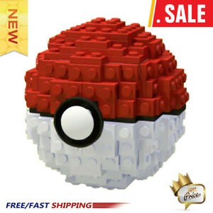 Go-Toys-Pocket-Monster-Explosion-Pokeball-Super-Master-Model-Figure-Building