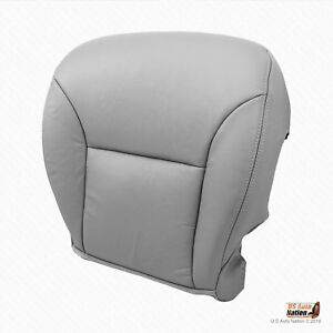 Cool Details About Passenger Bottom Synth Leather Seat Cover Gray Fits 2005 2006 Lexus Es300 Es330 Gmtry Best Dining Table And Chair Ideas Images Gmtryco