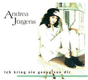 CD-Andrea-Juergens-Ich-Krieg-039-Nie-Genug-Von-Dir-1993