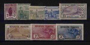 FRANCE-STAMP-TIMBRE-YVERT-148-55-ANNEE-COMPLETE-1917-NEUVE-xx-TTB-VALEUR-9150