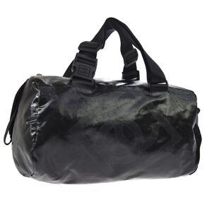 bb17243eaf0479 Image is loading Authentic-CHANEL-Sport-Line-Hand-Bag-Black-Waterproofing-