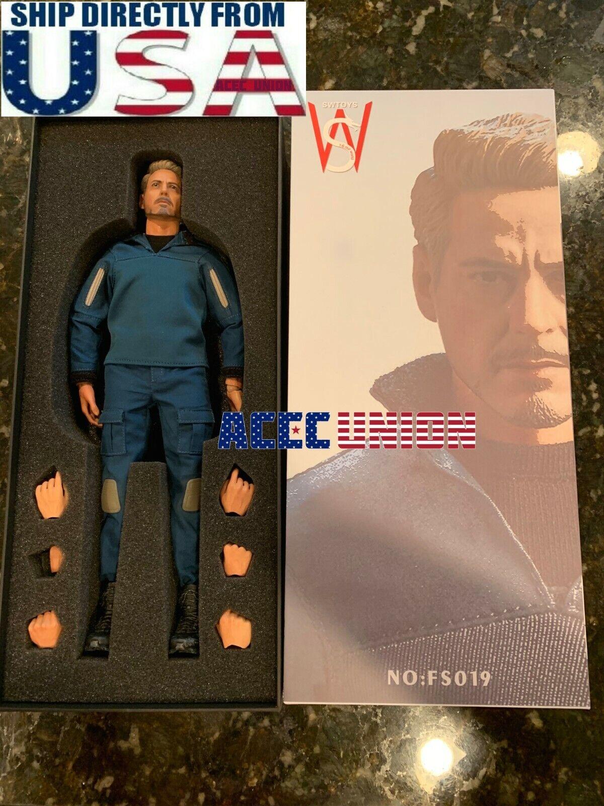 minoristas en línea SwJuguetes 1 6 escala Vengadores Tacho Iron Iron Iron Man Macho Figura full set FS019 EE. UU.  connotación de lujo discreta