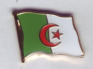 Algerien,Algeria,Flaggenpin,Pin,Badge,Flagge,Flag,Label