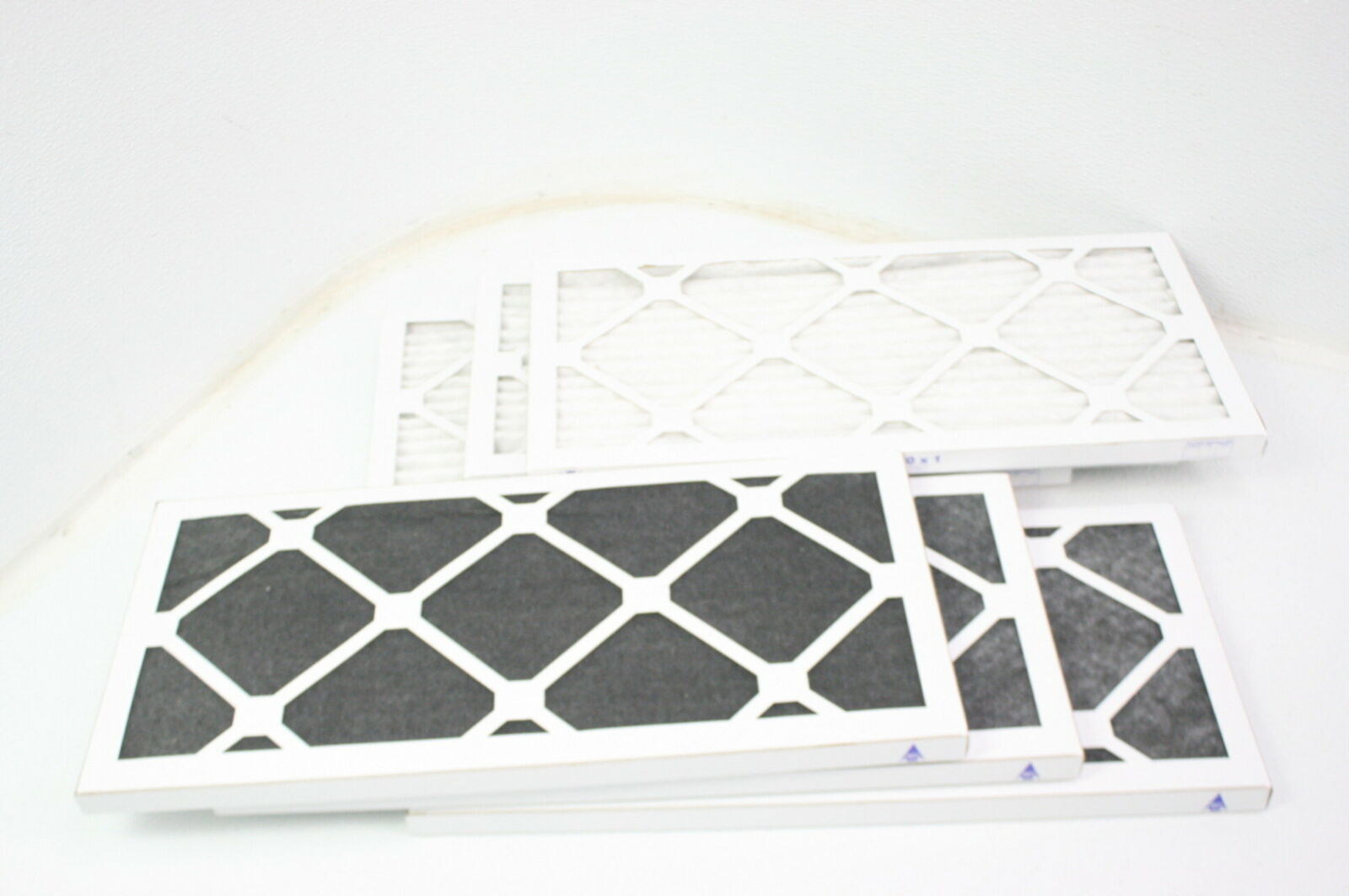 2 Pack 2 Piece Nordic Pure 10x20x1 MERV 12 Pleated Plus Carbon AC Furnace Air Filters