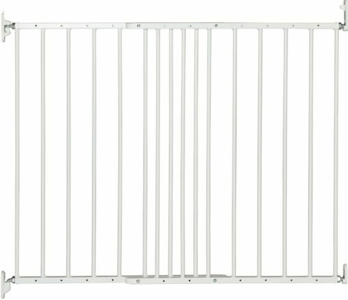 Kids Extending Metal Safety Gate Fence Screw Fitted Metal Adjustable Opening New