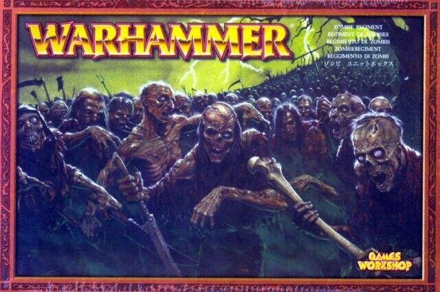 WARHAMMER  REGGIMENTO DI ZOMBIE   giocos lavoronegozio 2003 SCATOLA SIGILLATA  spedizione gratuita