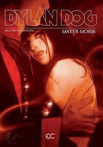 Dylan-Dog-Mater-Morbi-English-edition-red-cover-GN-Recchioni-Carnevale