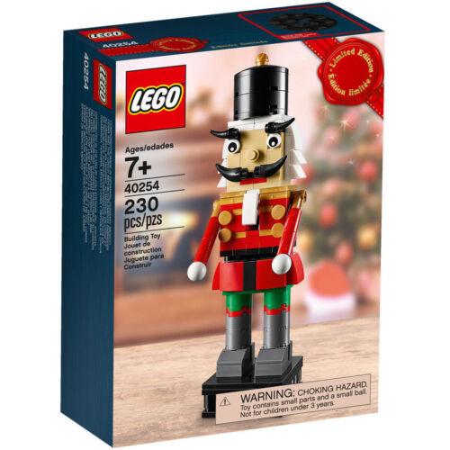 40254 NUTCRACKER lego NEW legos set CHRISTMAS nut cracker HOLIDAY exclusive