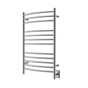Details About Heatgene Towel Warmer Wall Mounted Electric Plug In Hardwired Heated Rack