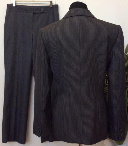 10 Euc Carer Pant Poliestere Women's pezzi grigio scuro Size Blend Tahari 2 Suit Tw7qP