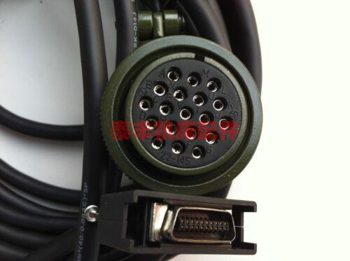 CNV2-3 3M MITSUBISHI M520 M64 Servo Motor Encoder Feedback Cable  #H3423 YD