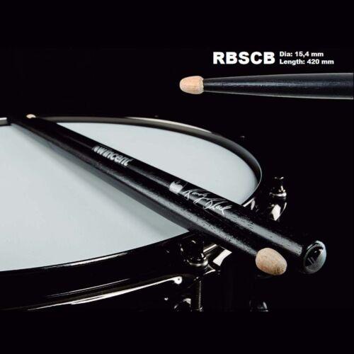 Wincent Randy Black Signature Drumsticks Schwarz Black Finish