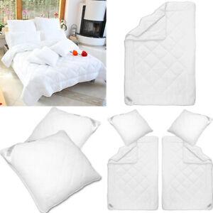 4-Jahreszeiten Bettdecke Steppbett Kopfkissen Steppdecke Zudecke Bettenset Decke
