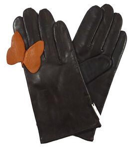 2 7 Maison Misura marrone 'Glove 1 Fabre Butterfly' With xCBdoQeErW