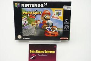 Nintendo 64 N64 Spiel Mario Kart 64 mit Ovp und Anleitung NOE