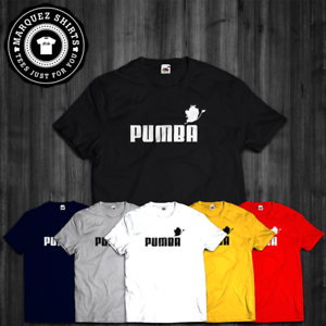 4c7adeff Image is loading T-Shirt-Pumba-Lion-King-Inspired-Parody-Spoof-