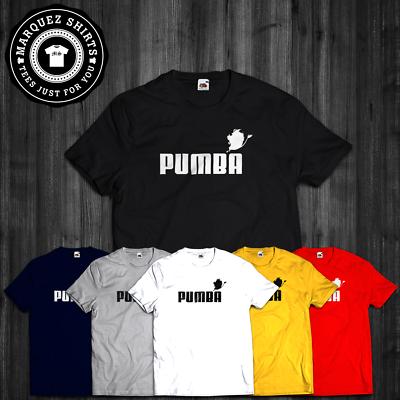 T shirt pumba roi lion Inspiré Parodie frauduleux Sports Tee