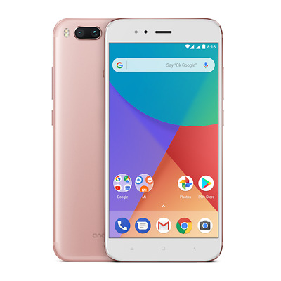 NUEVO XIAOMI MI A1 64GB DUAL SIM 4G LTE SMARTPHONE SIM LIBRE ROSA PINK