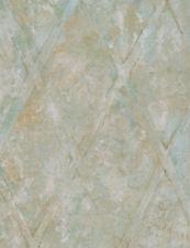 Large Diamond Lattice Wallpaper in Greens, Grays, Yellow/Greens, Gold  TE29304